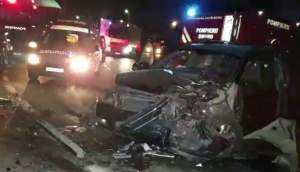 Accident cu șapte victime în Constanța (VIDEO)
