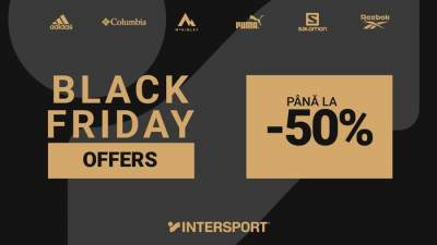 Descoperă ofertele de Black Friday de la Intersport, din Iulius Mall Iași